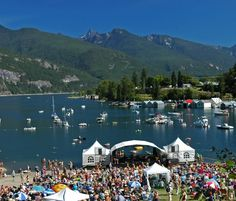 Kaslo Jazz Fest, great place to volunteer. Beautiful Places To Live, Great Places, Places To Volunteer, Vancouver City, Summer Music Festivals, O Canada, Jazz Festival, Enjoy Summer, Quebec City