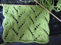 Lace Knitting Pattern 22: Braided Stitch