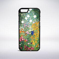 Gustav Klimt - Flower Garden Phone Case – Muse Phone Cases
