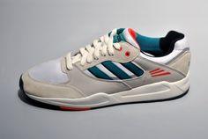 #adidas Tech Super Blanc Turquoise