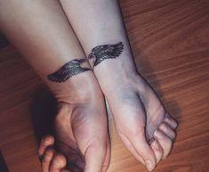Love Wings Tattoo Design