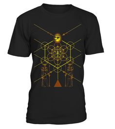 Sacred Geometry Science Egyptian T-Shirt - Limited Edition