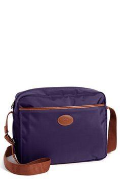 Longchamp Le Pliage Crossbody Bag Available At Nordstrom Closet Purple Bags