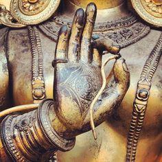 Bronze #Hindu statue detail from Patan. #himalayan #wanderlust #nepal #traveldeeper
