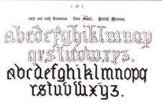 Typography - Alphabet - Ornamental, Renaissance, medieval  (15)