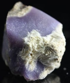 Sagenite, this incredibly rare purple variety comes from Madagascar