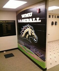Whether you're looking for school logo signs, large wall murals, locker signs or motivational signs, GameDay Vision of Brunswick, OH can offer you the best. Locker Room Decorations, Locker Signs, Swag Ideas, Large Wall Murals, Diy Design, Interior Design, Sports Graphic Design, School Logo, Logo Sign