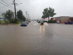Drains can't keep up with relenting rain in #yeg on 112 Ave & 149 St @CTV Edmonton #yegflood #yegwx