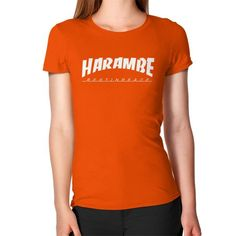 HARAMBE WHITE LOGO Women's T-Shirt