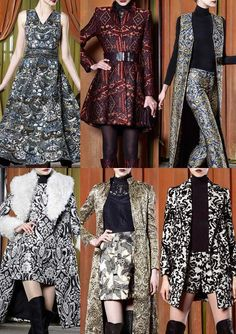 Alice & Olivia - Trends: Fall/Winter - New York Fashion Week Fall 2015 Women's Runway Prints | WeConnectFashion