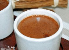 Chocolate caliente a la antigua