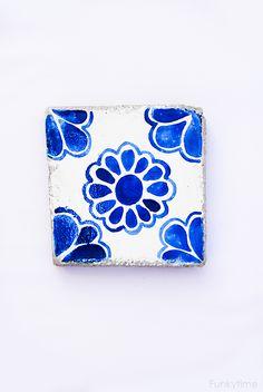 Azulejos hechos a mano DIY - dintelo.es