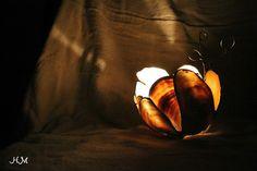 Omaezaki Natural Style: 気持ちが通う春 - シーグラスアートキャンドルホルダー