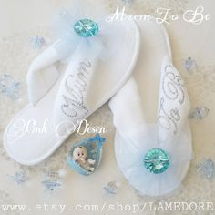 Hey, I found this really awesome Etsy listing at https://www.etsy.com/listing/247793738/mum-to-be-flipflops-baby-shower-velour