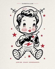 Baby astronaut.