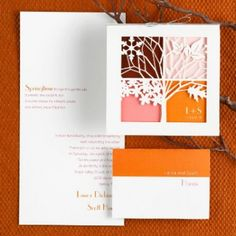 Cutout invitations - love these!