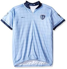 MLS Sporting Kansas City Womens Primary Short Sleeve Cycling Jersey Large  Blue    See this great product.Note It is affiliate link to Amazon. 129ba9287
