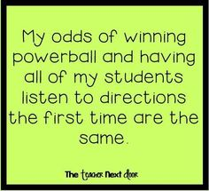 Mmmm, well maybe the powerball has slightly better odds.