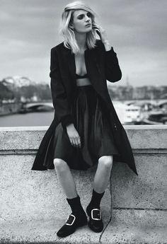 Ashleigh Good by Dan Martensen for vogue Australia August 2014