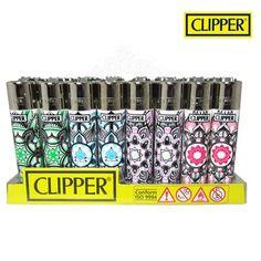 Boite de 48 briquets Clipper Mandala