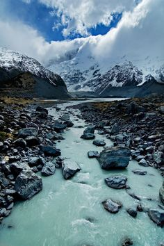 Mt. Cook National Park, New Zealand