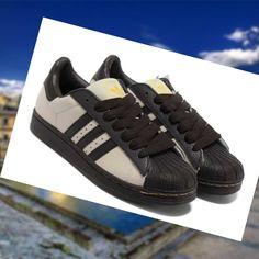 promo code ff988 e3dc1 2015 los Saldos Calzado Tenis Hombre Adidas Superstar 2 Caf Dorado Negro  Beige KOcDw No es caro