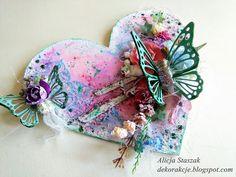 DEKORakcje: Serce z motylami