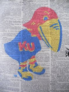 Another cool Jayhawk print