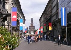 EXPO 2015: FLAGS BOULEVARD  www.tourismando.it for your vacations!!