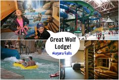 What to expect on a quick escape to Great Wolf Lodge Niagara Falls, Ontario. Tips for one night stays and weekend getaways.