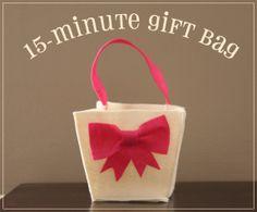 Free Pattern: 15-Minute Gift Bag