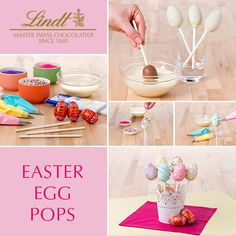 How-To:  LINDOR Easter Egg Pops