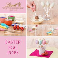 How-To:  LINDOR Easter Egg Pops