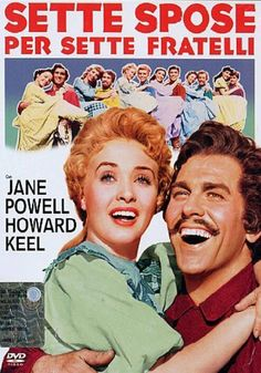 Seven Brides for Seven Brothers is a 1954 Adventure, Comedy film directed by Stanley Donen and starring Howard Keel, Jane Powell. Howard Keel, Jane Powell, Julie Newmar, See Movie, Movie Tv, Brothers Movie, Netflix, Classic Movie Posters, Turner Classic Movies