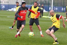 Beckham - PSG practice