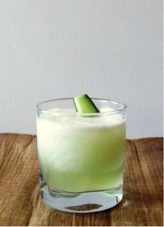 Cucumber Fresca — http://www.foodnetwork.com/recipes/aaron-sanchez/agua-fresca-de-pepino-cold-cucumber-drink-recipe/index.html