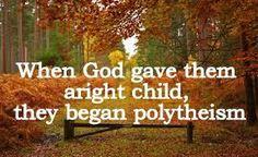 The Creator, His Caliph and Satan (Allaah, Aadamii awr ibliis): When God gave them aright child, they began polyth...
