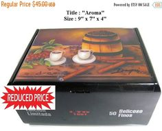 REDUCE PRICE Buy 1 Get 2nd 30% Off  Huge Humidor by thebestart1122