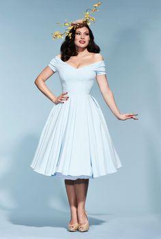 Fatale Ice Blue Prom Dress   The Pretty Dress Company