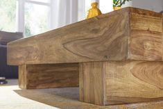 Wohnling Couchtisch Sira 120 cm WL1.439 aus Akazie Massivholz #Wohnzimmer #Wohnidee #Lang #Holz #Massiv