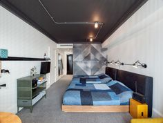 Image 1 of 17 from gallery of Ace Hotel London / Universal Design Studio. Courtesy of Ace Hotel Ace Hotel London, London Hotels, 3d Home, Design Studio, Clever Design, Interiores Design, Furniture Decor, Decoration, House