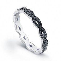 black diamond rings for women uk