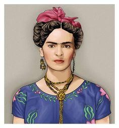 066 Frida Kahlo