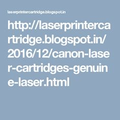 Laser printer cartridge is significantly more picked then any ink fly printers in working environments and even at home. Canon Toner, Printer Cartridge, Laser Printer, Toner Cartridge, All Brands, Printers, Blog, Samsung, Ink