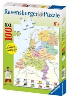 Puzzel Nederland kaart (CITO)