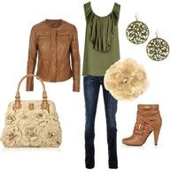 I love the purse and the boots.  And the rest ain't too shabby!