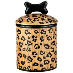 Leopard Spot Treat Jars -Glamour Mutt