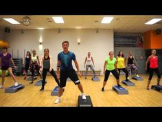 ZUMBA STEP Pitbull - Fun ( salsa/samba) Best Picture For Aerobics Workout for Beginners full body Fo Zumba Fitness, Step Aerobic Workout, Aerobics Workout, Belly Dancing For Beginners, Belly Dancing Classes, Step Ejercicios, Step Aerobik, Contemporary Dance Classes, Sport