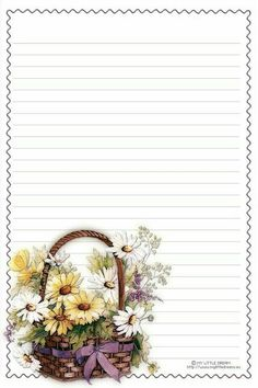 For pen pal :) Free Printable Stationery, Printable Paper, Journal Paper, Journal Cards, Envelopes, Scrapbook Paper, Scrapbooking, Pretty Writing, Printable Pictures