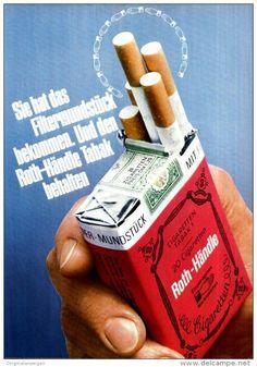Original-Werbung/ Anzeige 1969 - ROTH - HÄNDLE CIGARETTEN  - ca. 180 x 240 mm